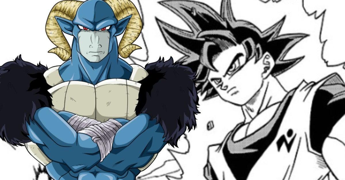 Dragon Ball Super Moro Ultra Instinct Goku Manga