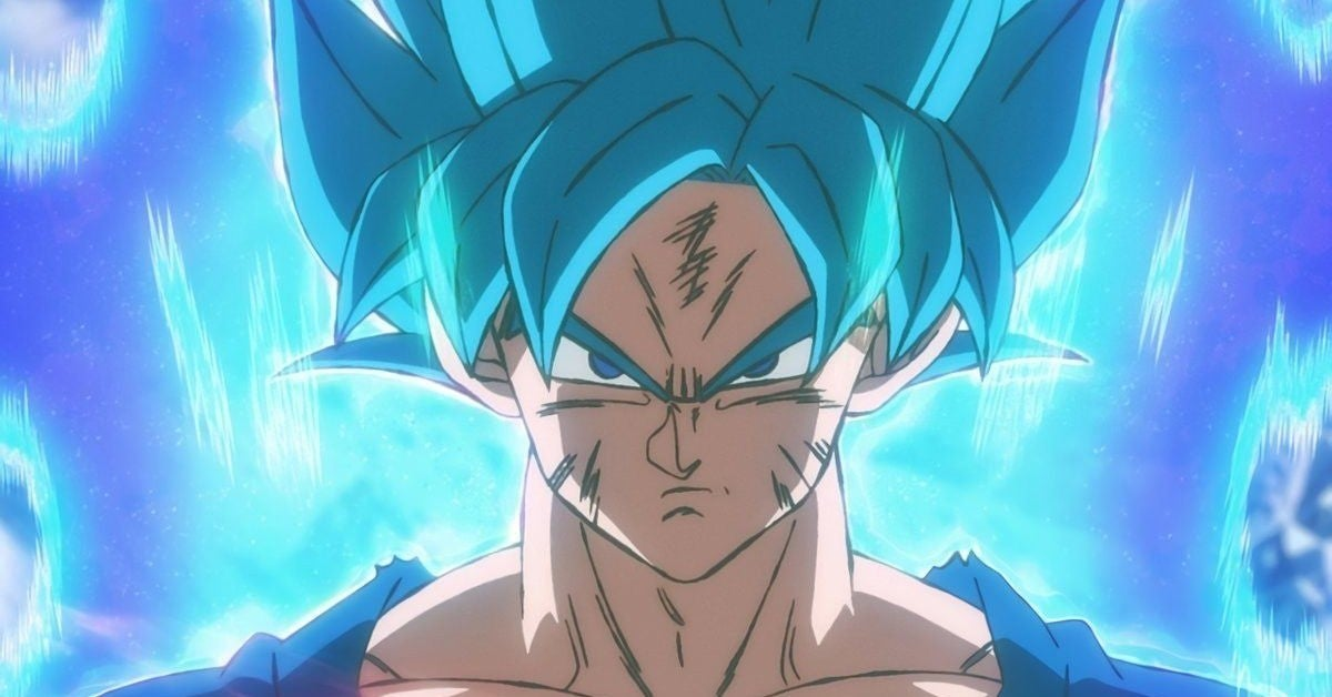 Dragon Ball Super Saiyan Blue Goku