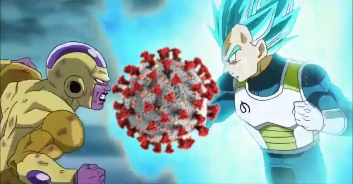 Dragon Ball Vegeta Frieza Actors Fight Coronavirus Vieos