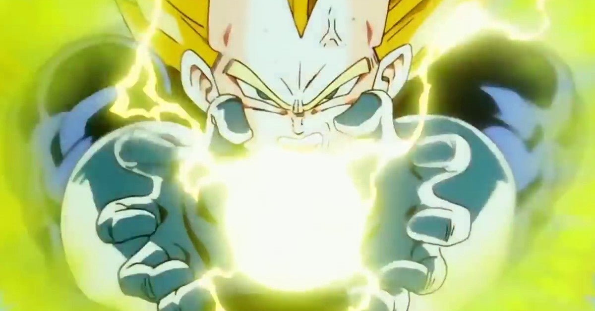 Dragon Ball Z Vegeta Final Flash