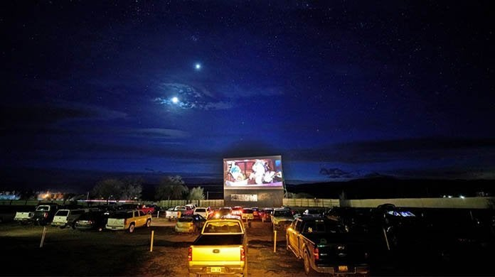drive in theaters open coronavirus getty images