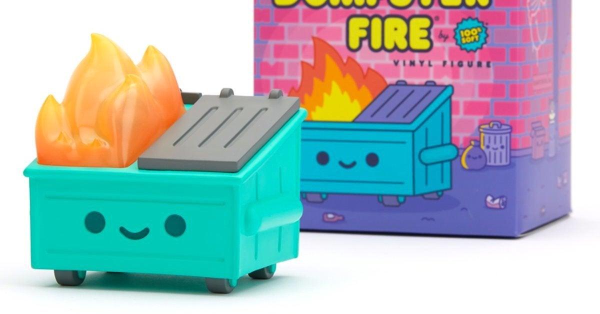 dumpster-fire-vinyl-top