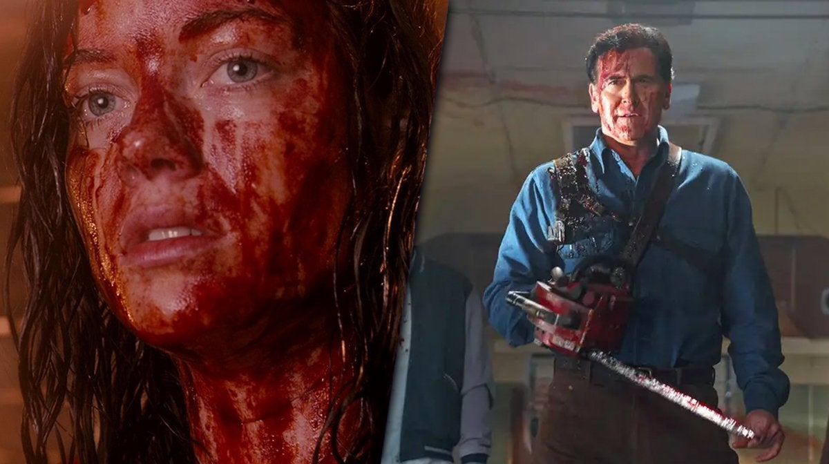 evil dead remake bruce campbell jane levy crossover