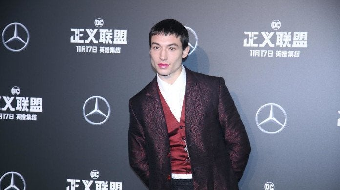 Ezra Miller Fan Choke Choking