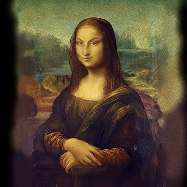 famous painting fake
