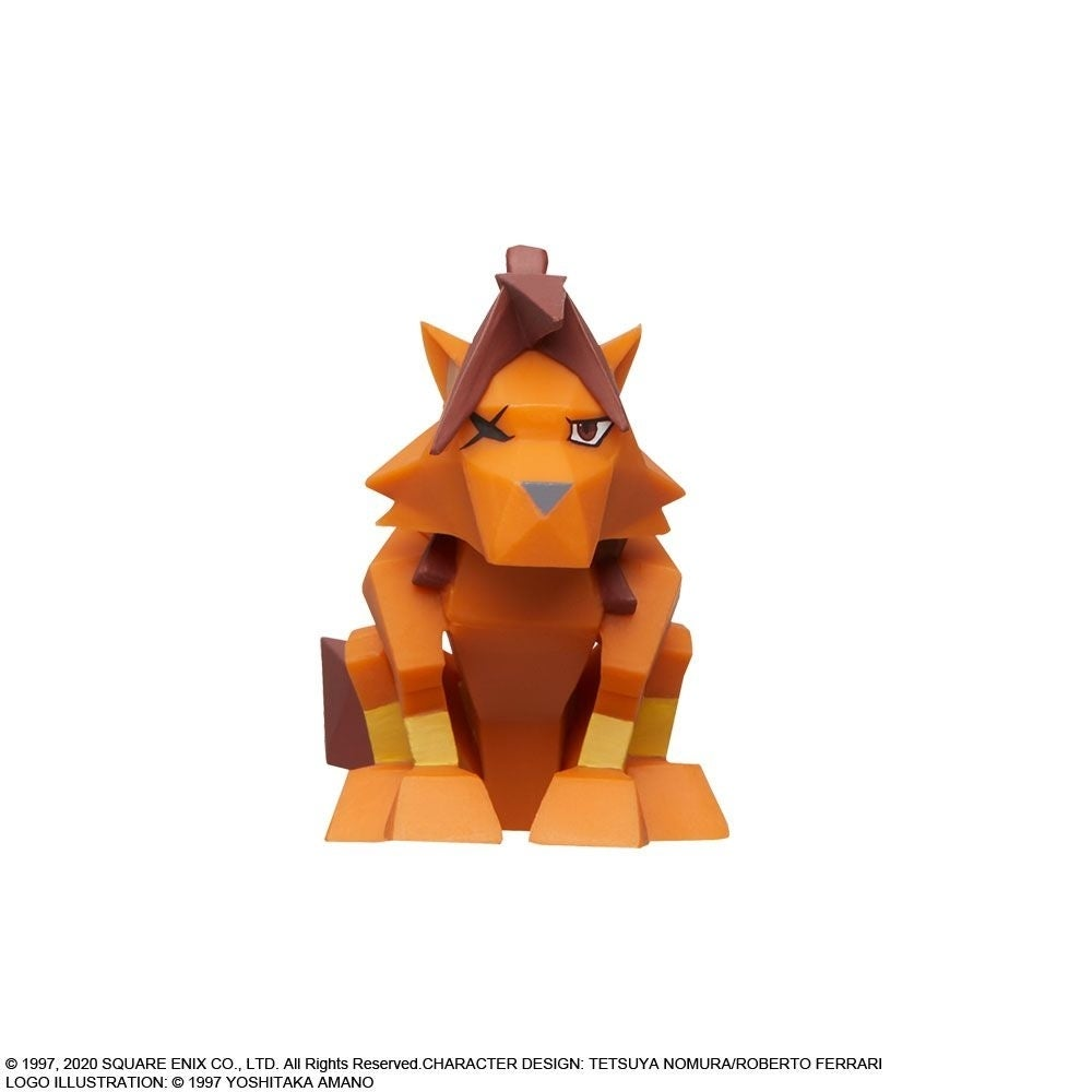 ff7 red xiii polygon front