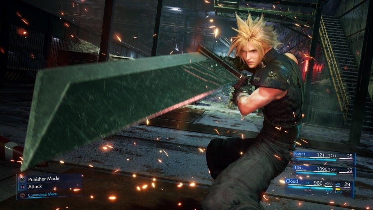 final fantasy 7 remake cloud sword