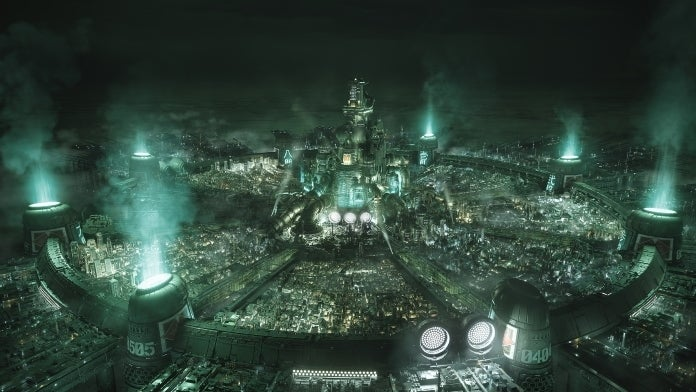 final fantasy 7 remake midgar zoom background cropped hed