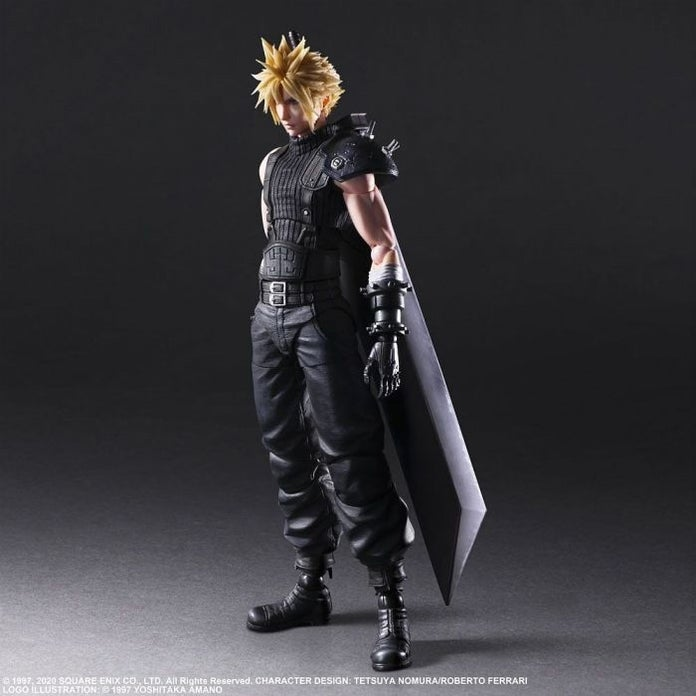Final Fantasy 7 Remake Play Arts Figures Feature Cloud Tifa And More Up For Pre Order Now