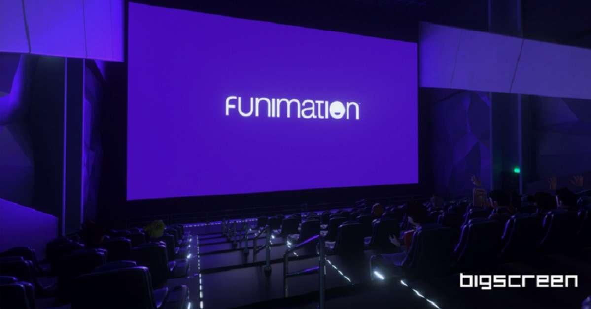 Funimation Big Screen Virtual Reality