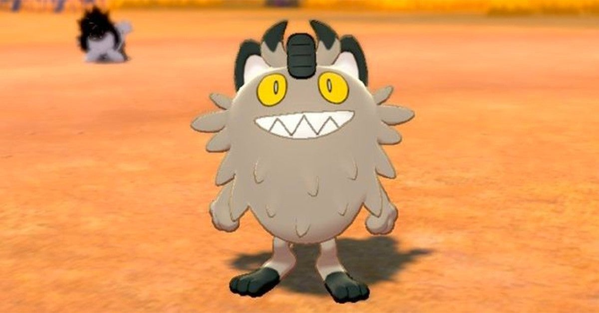 galar meowth