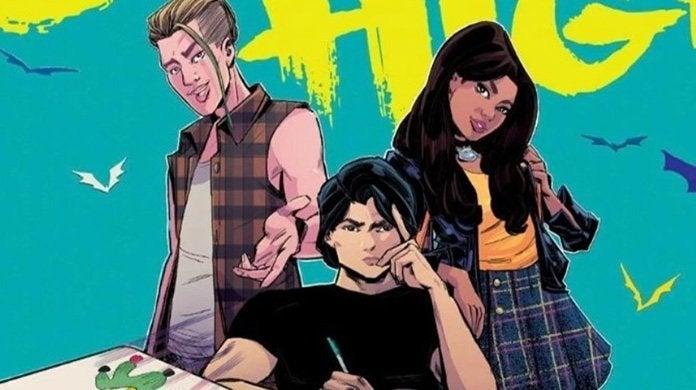 gotham high dc comics