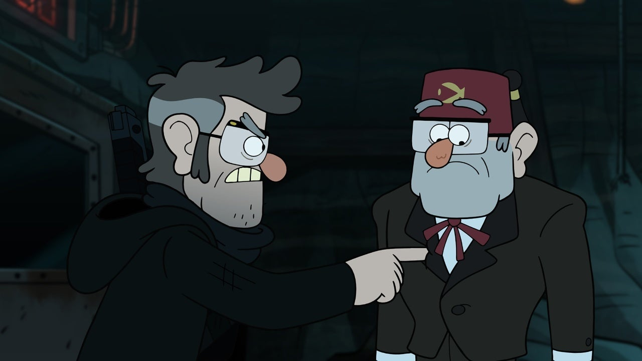 gravity falls grunkle stan symbol edit disney plus
