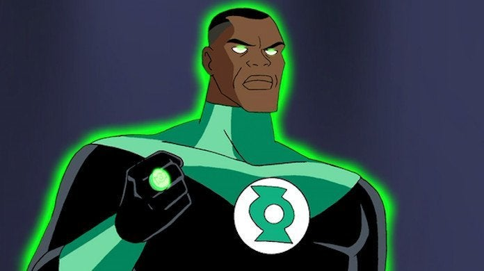 Green Lantern John Stewart Justice League Phil LaMarr