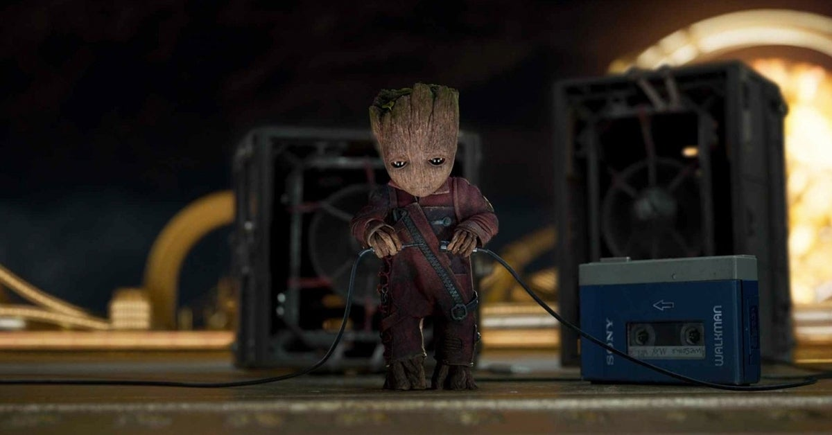 guardians 2 baby groot opening