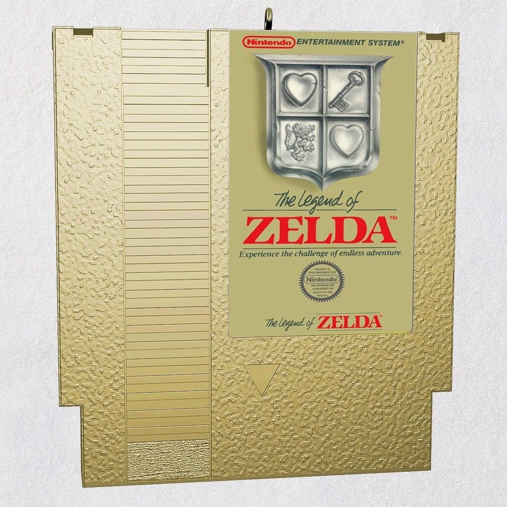 hallmark zelda cartridge
