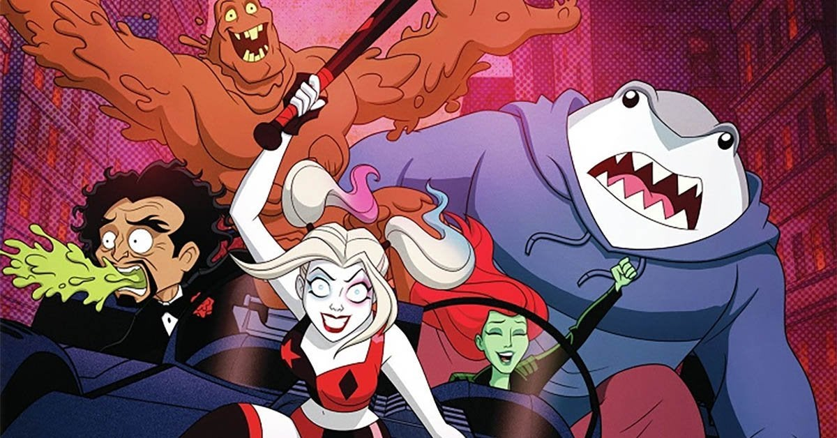 harley quinn first season dvd release header