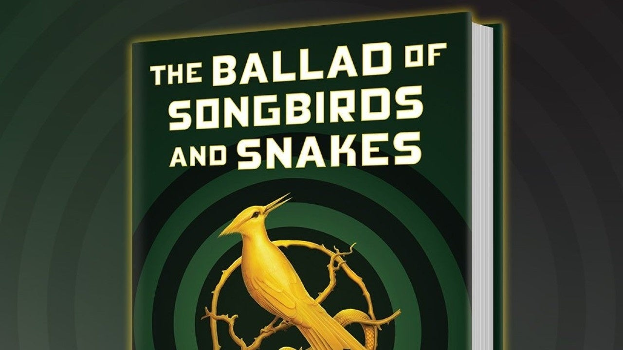 hunger games songbirds and snakes cover