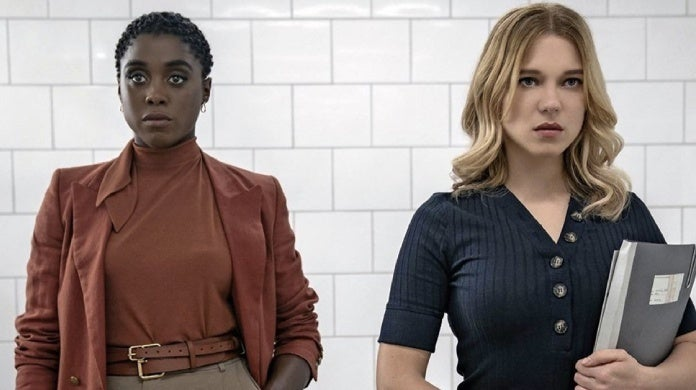 james bond no time to die lashana lynch lea seydoux