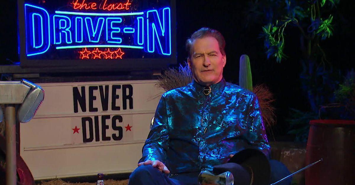 joe bob briggs drive-in never die