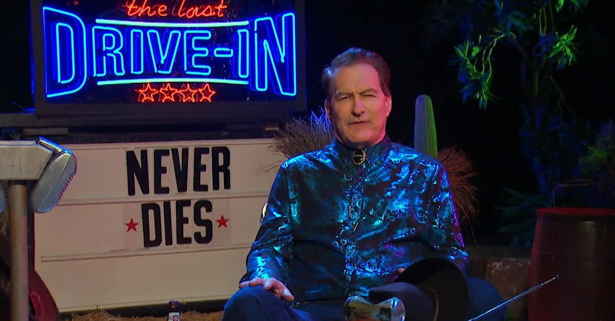 joe bob briggs drive-in never die