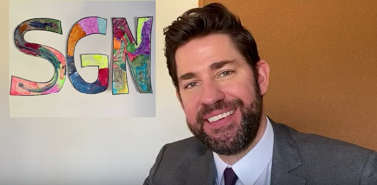 john krasinski some good news