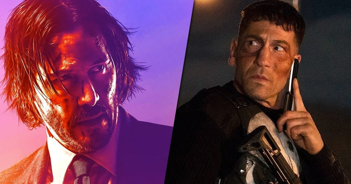 John wick the punisher fight