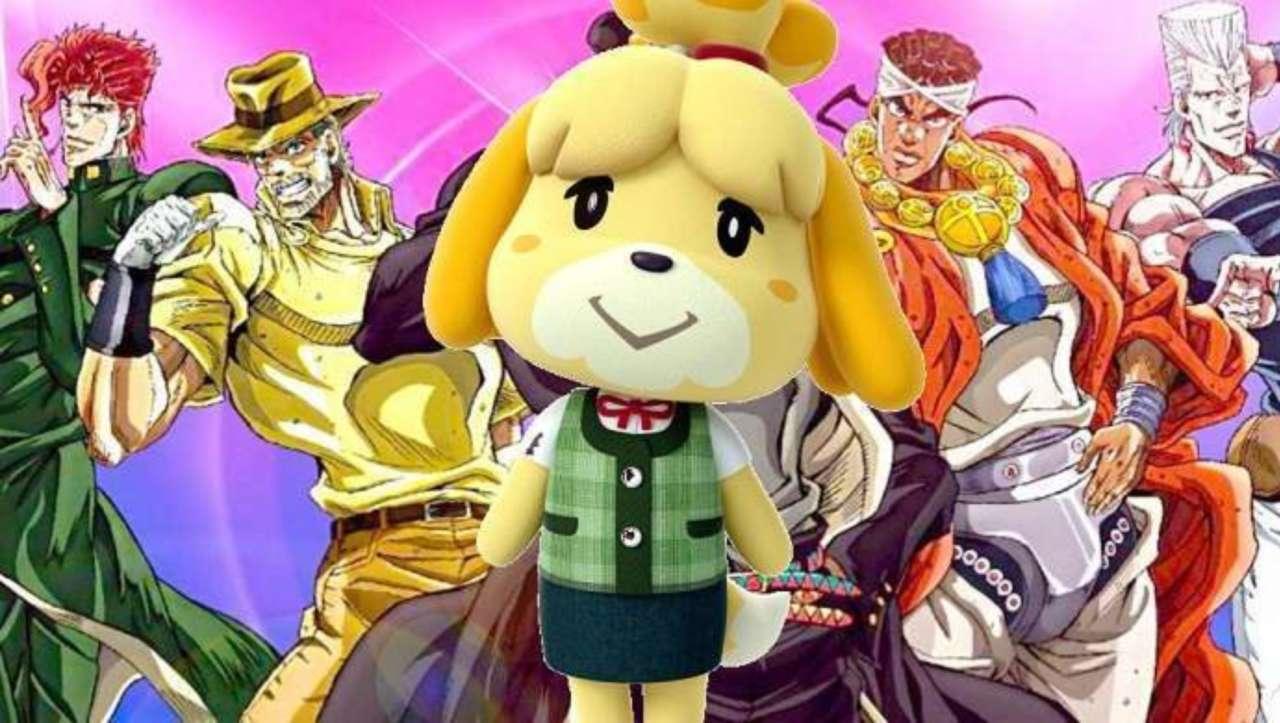Animal Crossing Fans Recreate The Fashion Of Jojo S Bizarre Adventure