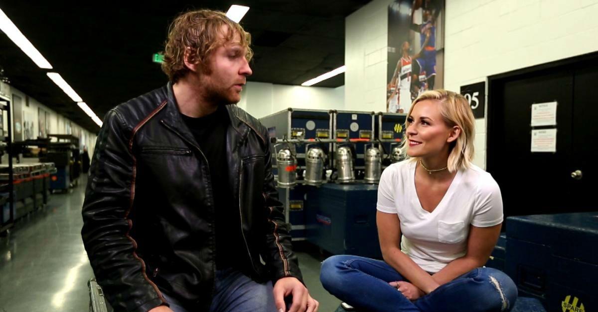 Jon-Moxley-Renee Young-WWE