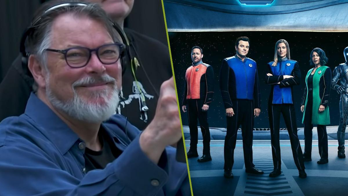JOnathan Frakes the Orville Season 3