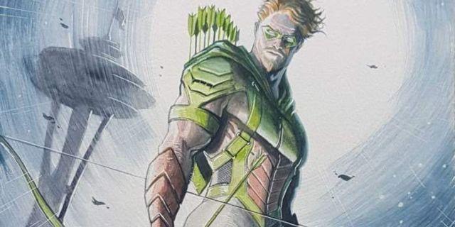 juan ferreyra green arrow dc comics coronavirus quarantine