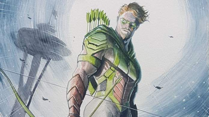 juan ferreyra green arrow dc comics coronavirus quarantine