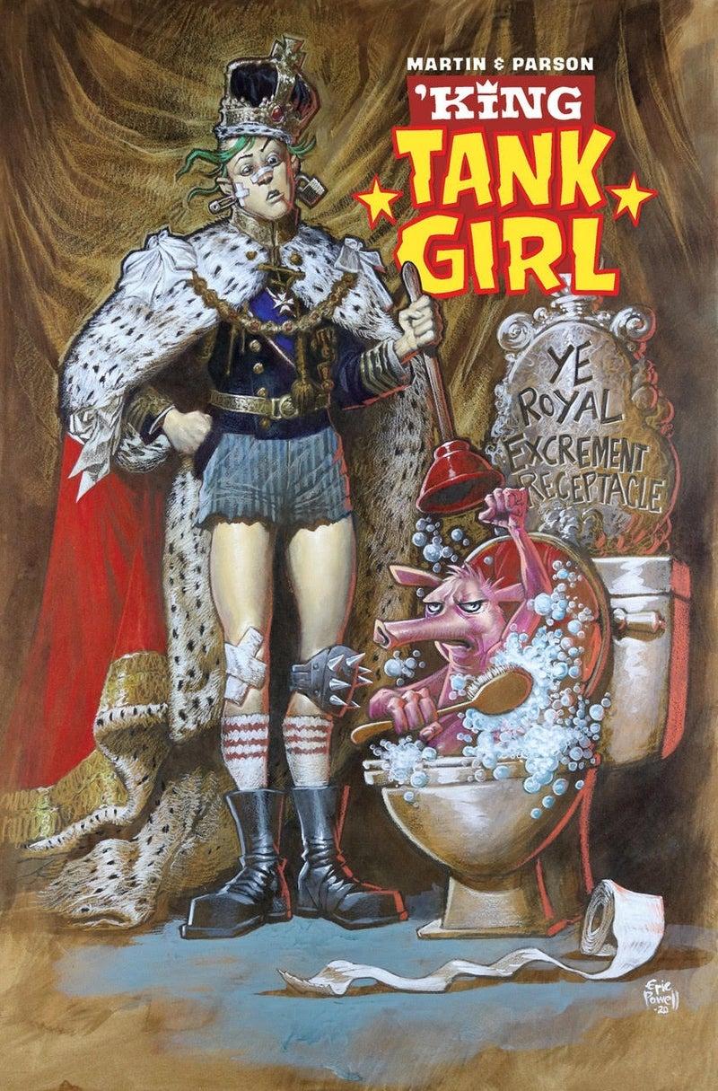 king tank girl eric powell cover