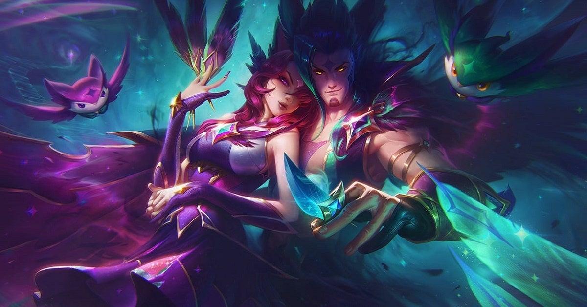 League of Legends Rakan Xayah