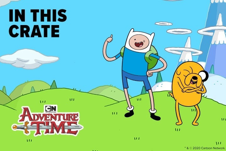 loot crate adventure time
