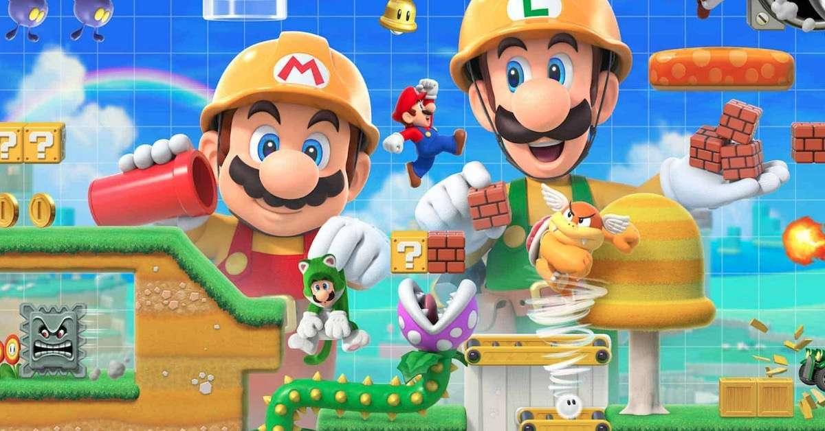 Mario maker 2-1