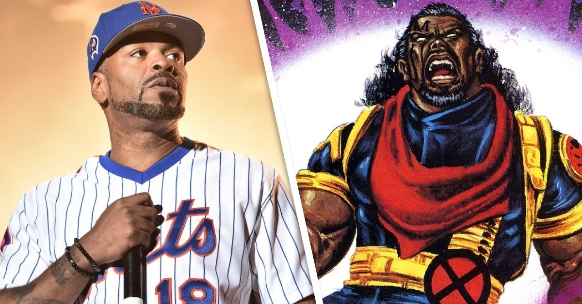 marvel comics x men bishop method man
