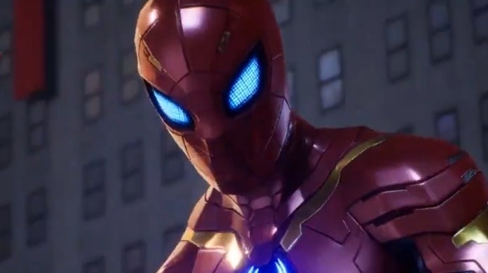 marvel future revolution spider man armor