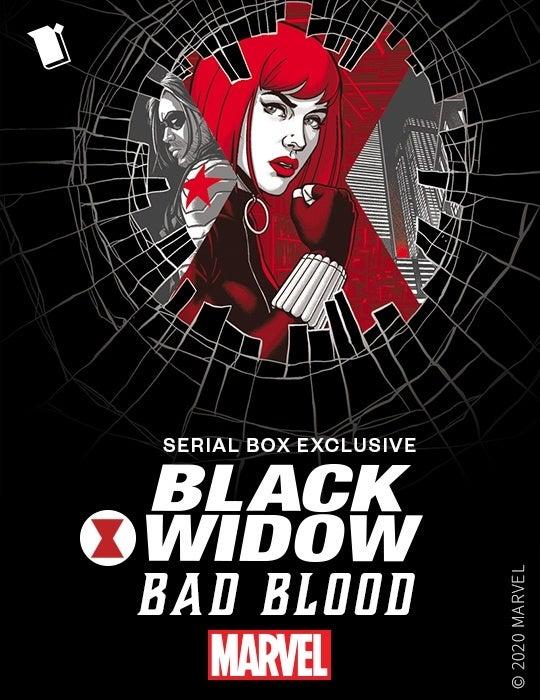 marvel's black widow bad blood key art