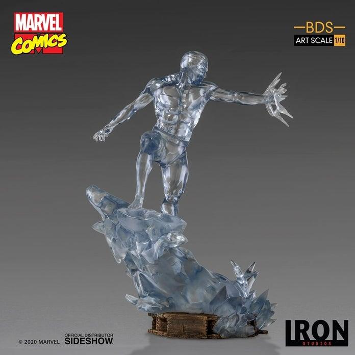 Marvel-XMen-Iceman-Iron-Studios-Statue-2