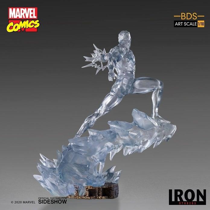 Marvel-XMen-Iceman-Iron-Studios-Statue-3