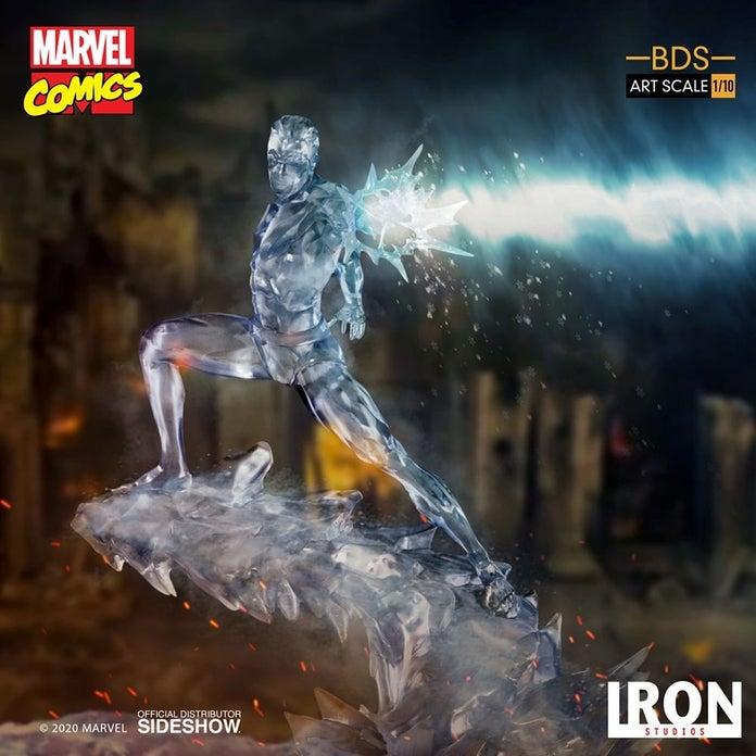 Marvel-XMen-Iceman-Iron-Studios-Statue-7
