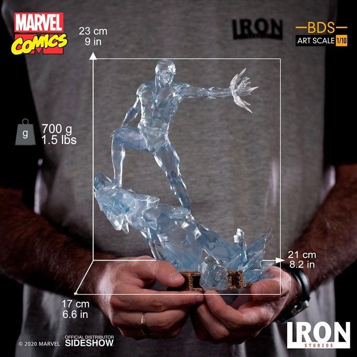 Marvel-XMen-Iceman-Iron-Studios-Statue-8