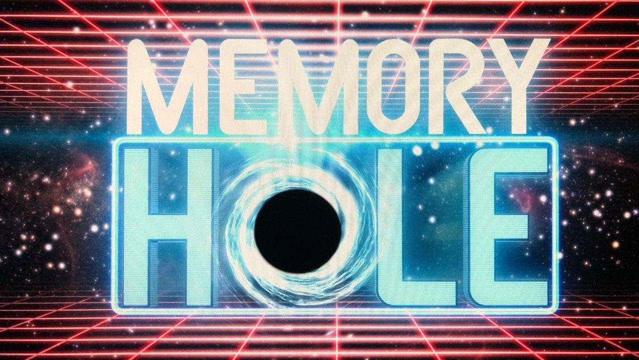 memory hole quibi logo artwork