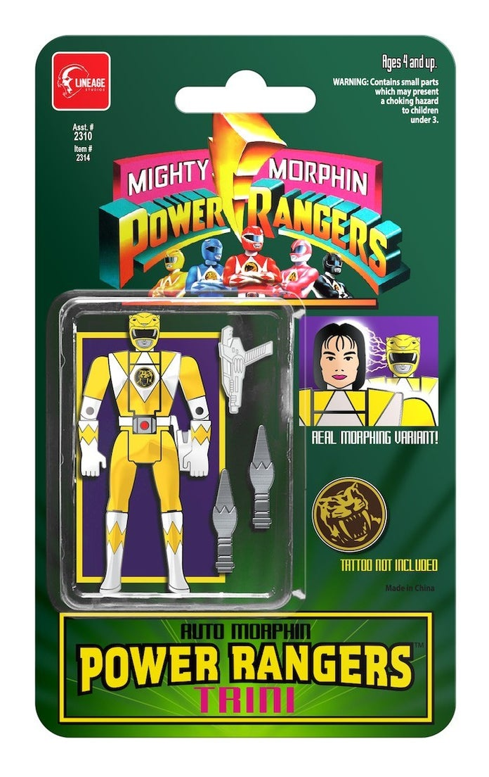 Mighty-Morphin-Power-Rangers-Retro-Pin-Collection-Yelow-Ranger