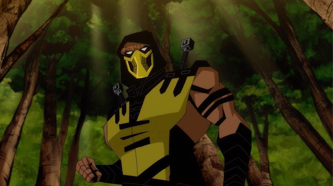 mortal kombat legends scorpion