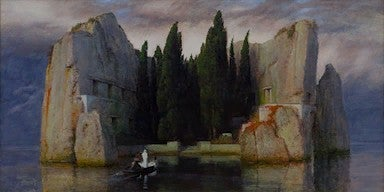mysterious painting real