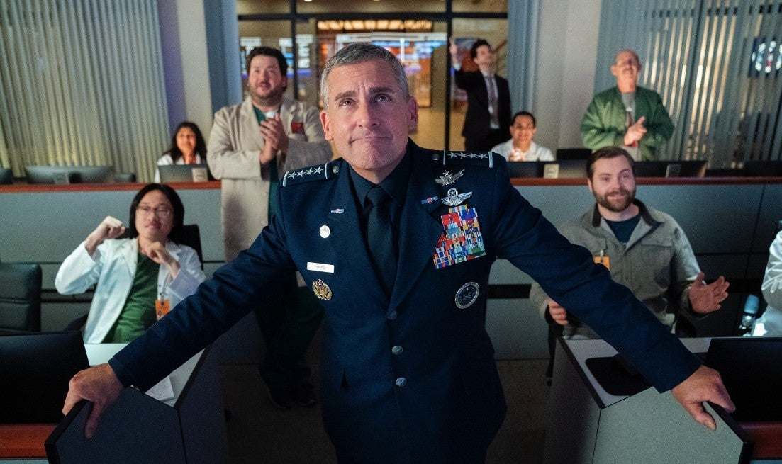 netflix space force steve carell
