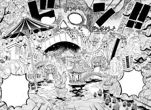 One Piece Onigashima Wano Country Manga