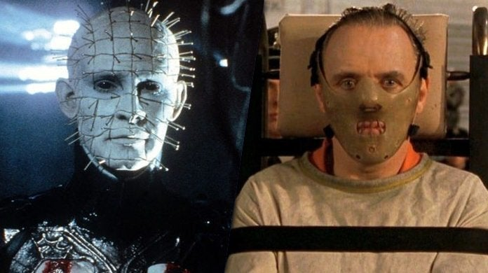 pinhead hellraiser hannibal lecter silence of the lambs